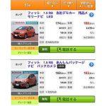 カーセンサー内のFIT RS(三代目)